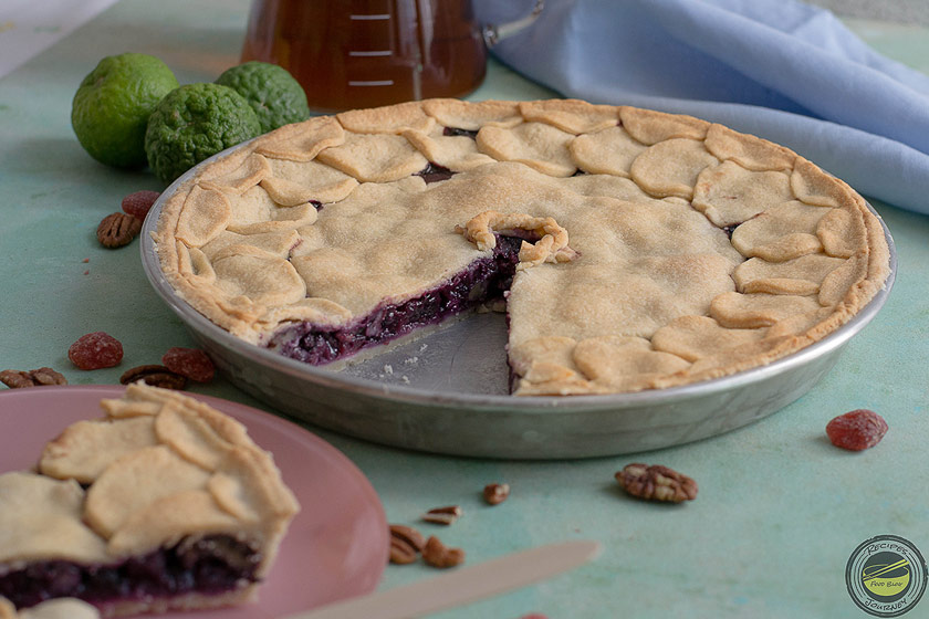 Blueberries Pie