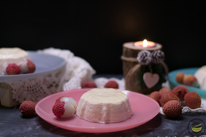 Lychees Mousse